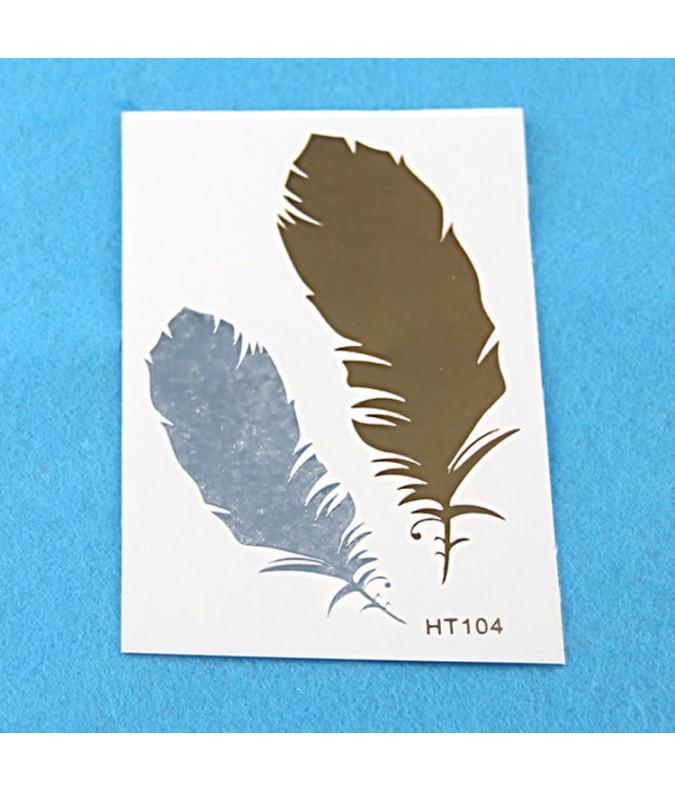 tatouage cheveux HT102