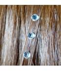 Strass cheveux diamant