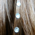 Strass cheveux diamant