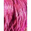 Rose bonbon rayée XL