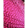 Rose fluo rayée XL
