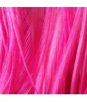 Plain Bright Fluorescent Pink XL
