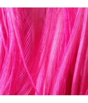 Plain Bright Fluorescent Pink L