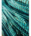 Turquoise rayée XXL