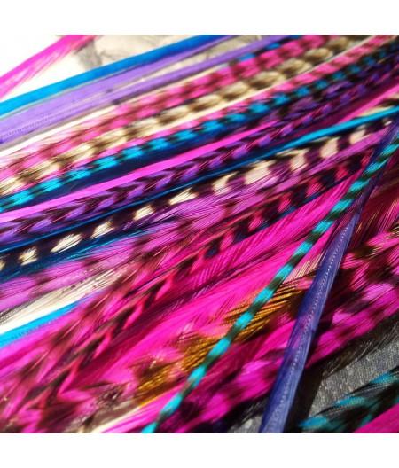 Assortiment Divine 4 plumes 25-30cm